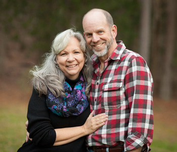 Portrait of Mark and Sherri
